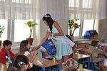 Hyundai i Miss Polonia 2012, Paulina Krupińska uczą dzieci bezpieczeństwa na drodze