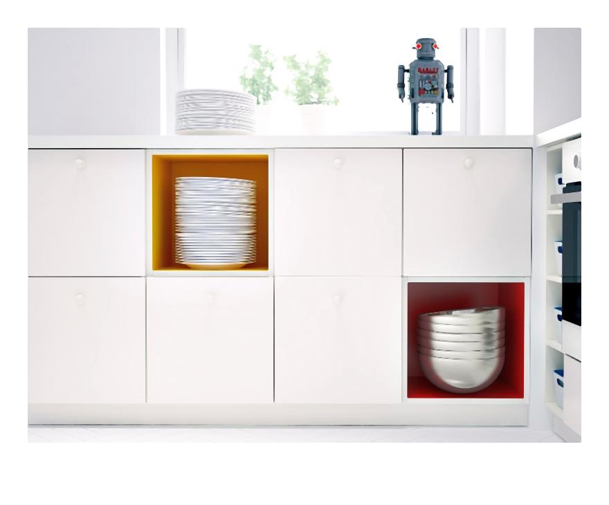 Nowy i innowacyjny system mebli kuchennych