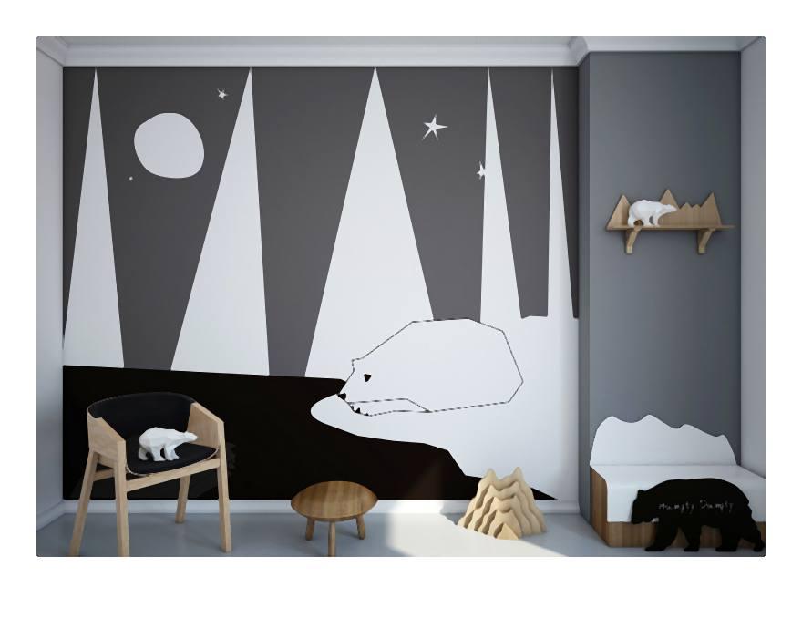 Jak wybrać tapetę do pokoju dziecięcego?
